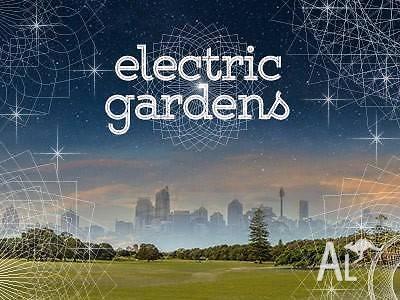 Electric Gardens GA Ticket - Bondi pick up or local
