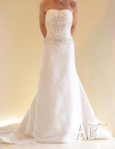 Elegant Ivory Wedding Dress Size 14-16