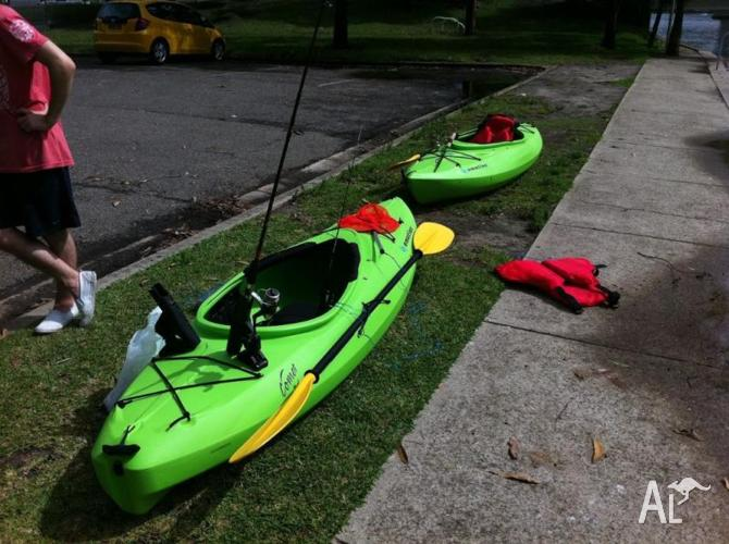Emotion Fishing Kayak Sit Inside Loads Of Extra S For Sale In