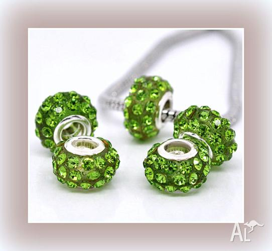 ENAMEL AND CRYSTAL CHARM. CHARMS ARE $1.50 EACH. 4