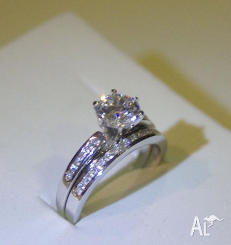 Engagement Bridal Set Rings Earrings - Prices starting