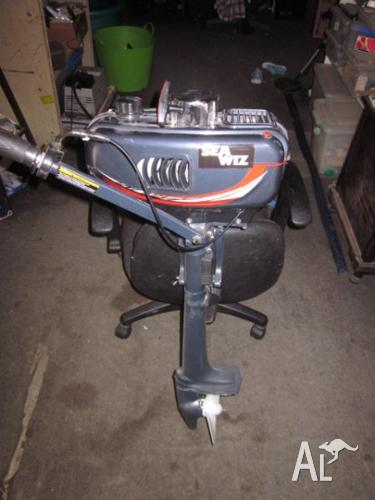 engine : 3.5 HP OUTBOARD BRAND NEW