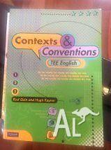 English Contexts & Conventions TEE English