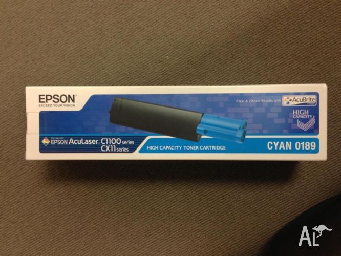 Epson AcuLaser High Capacity Toner Cartridge Cyan 0189