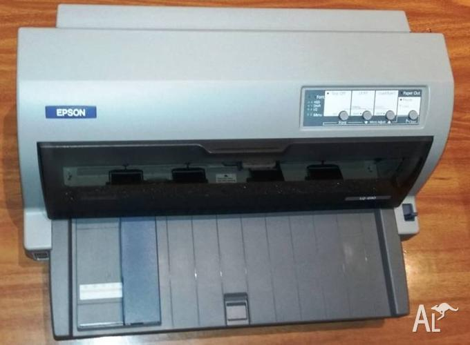 Epson LQ-690 HIGH YIELD A4 24-PIN, 529 CPS (12 CPI) 106