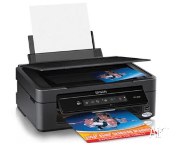 Epson XP200 multifunction printer copy scan print under