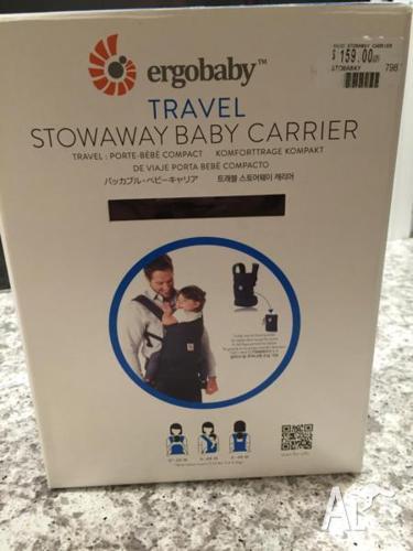 ergobaby travel stowaway baby carrier