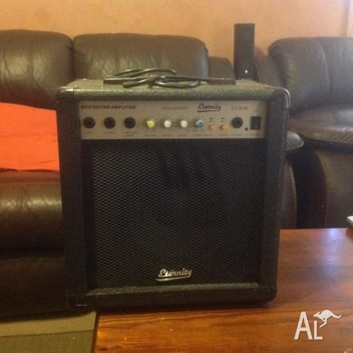 Eternity bass guitar amplifier $60.