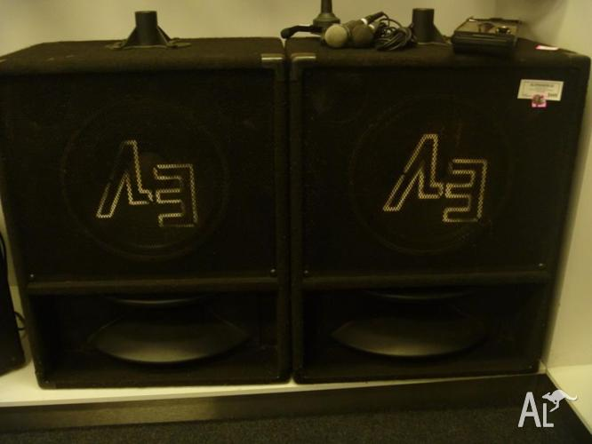 EV SPEAKERS X 2 FOR SALE