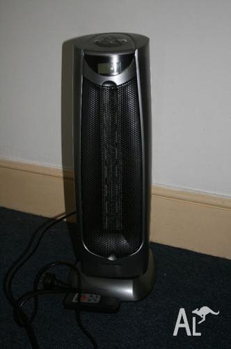 Everdure Ceramic Fan Tower Heater 1000w/2000w HTC204SA