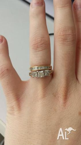 Evermore Engagement Ring Plus Wedding Band Urgent