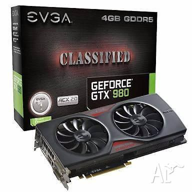 EVGA GeForce GTX 980 Classified ACX 2.0 graphics card