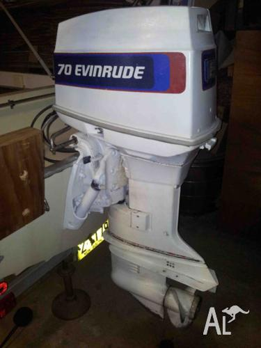 Image gallery for evinrude 70hp outboard with electric for 70 hp evinrude outboard motor for sale
