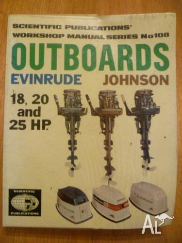 Evinrude Johnson 18 20 and 25 HP outboard motor workshop manual for