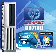 Ex-Government Desktop Hewlett Packard 7700 Core 2 Duo