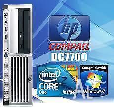 Ex-Government Desktop Hewlett Packard 7700 FAST Core 2