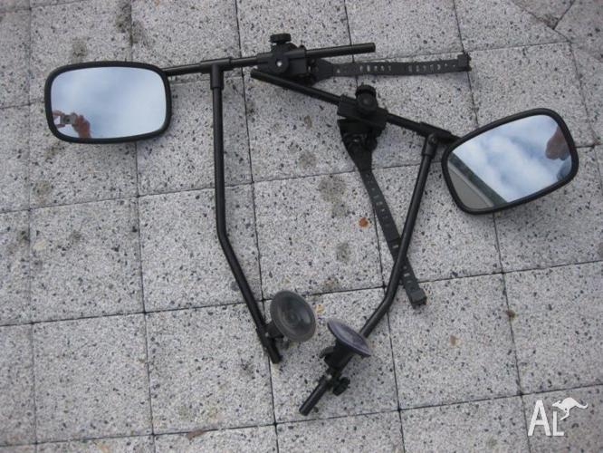 Extension mirrors for towing - Pair