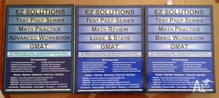 EZ Solutions 3 Books $45.00