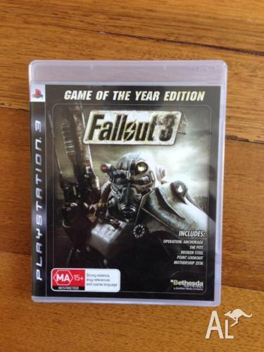 Fallout 3 GOTY for Playstation 3 PS3