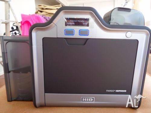 Fargo HDP5000 ID Card Thermal Printer