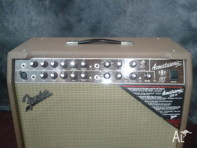 Fender Acoustasonic Sfx Ii Acoustic Guitar Amplifier For Sale In