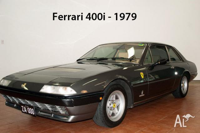 ferrari 400i for sale in elizabeth bay new south wales classified. Black Bedroom Furniture Sets. Home Design Ideas