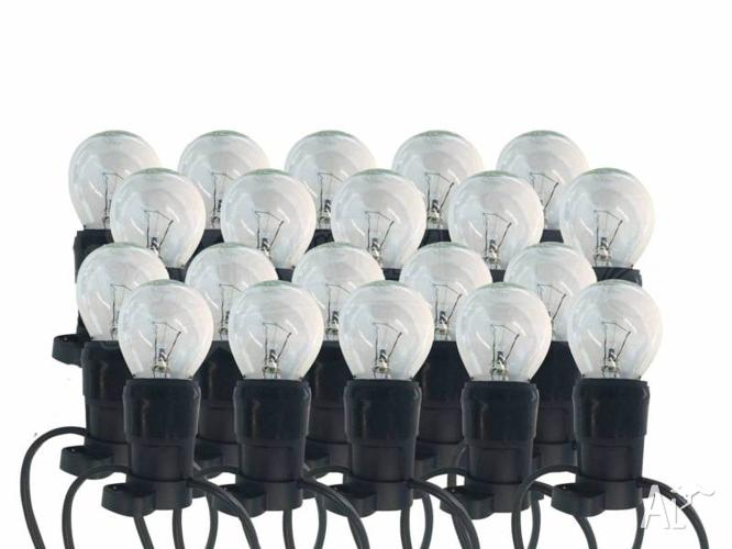 Festoon Party Lighting Kit with 20 warm white lamps -
