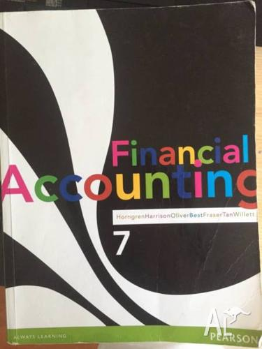 Financial accounting 7th by Horngren BUSN7008
