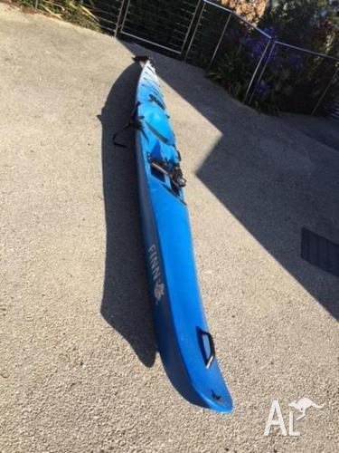 Finn Endorfinn surf ski (blue)