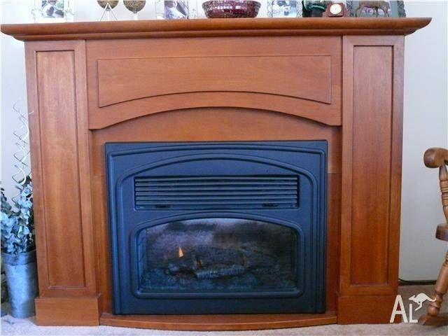 Fireplace Mantle and Dimplex Electric heater