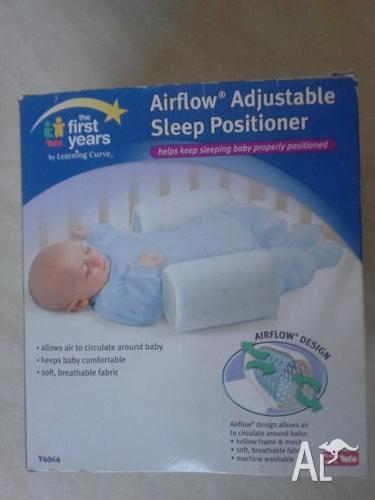 First Years Airflow Sleep Positioner anti-roll infant