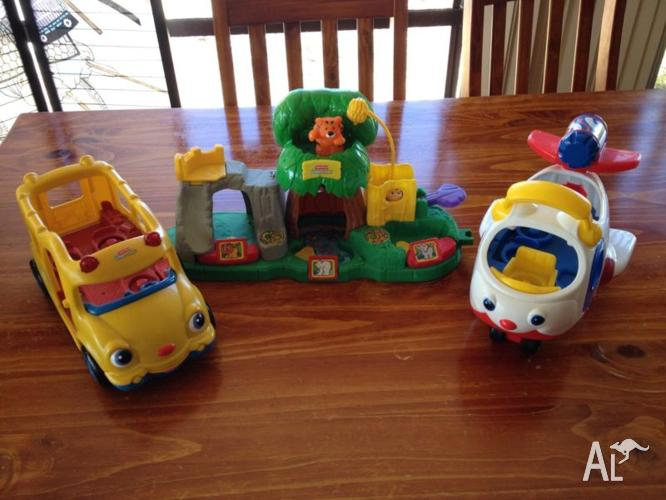 Fisher Price little people plane, train and jungle