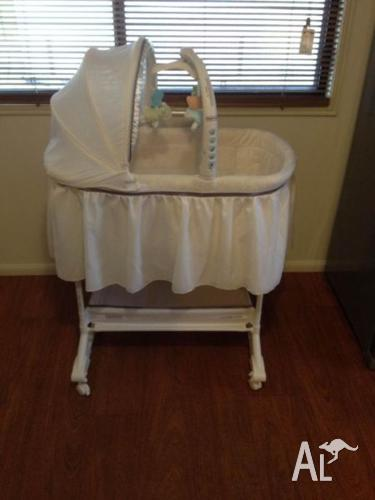 Fisher Price My Little Lamb Rocking Bassinet For Sale In Blackwater