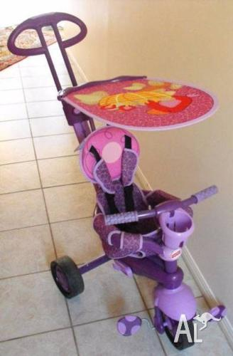 Fisher Price Pushbar Steering Trike in excellent