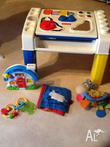 fisher price toys activity table musical toy books bulk