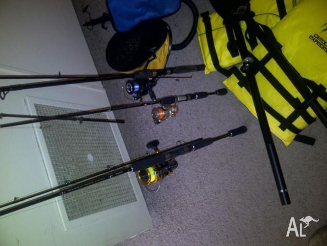 Fishing Gear & Rods.