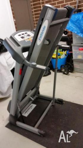 Fitstrider T925 Treadmill & Treadmill Mat