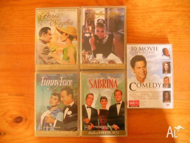 Five DVD's