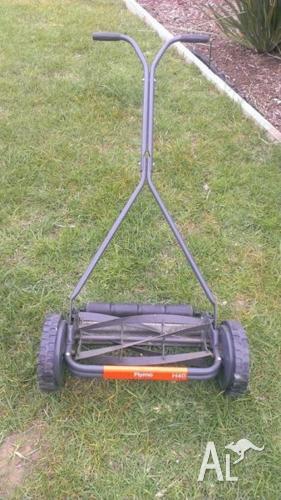 Flymo push lawnmower