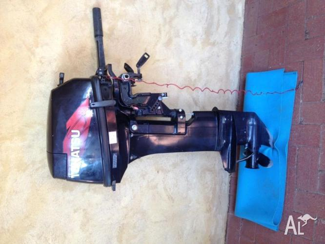 For sale 2011 18hp tohatsu outboard long shaft for sale for Long shaft trolling motor for sale