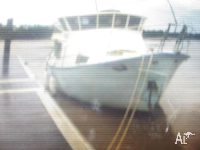 For Sale 33ft Fibreglass Fishing Boat