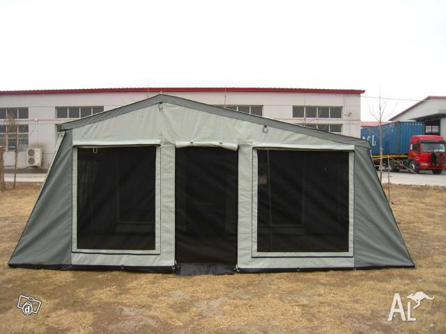 For Sale Camper Trailer Tent C W 14oz Grey Canvas For Sale