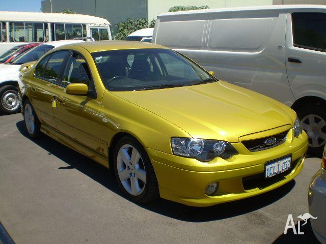 FORD FALCON XR6 BA   2002