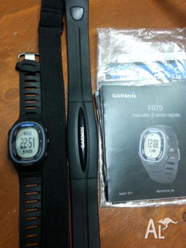 FR70 Garmin Heart rate monitor