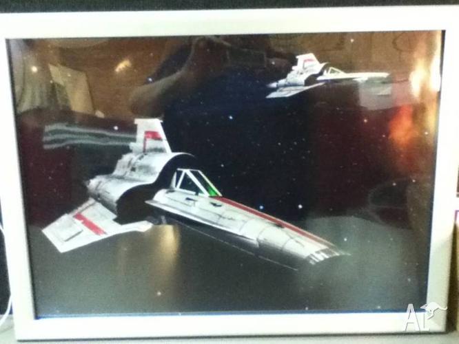 Framed Sci-Fi Art prints