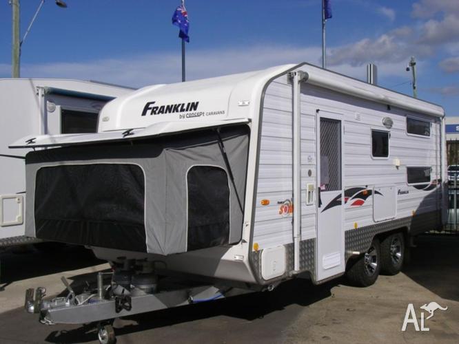 Franklin Sonic Blitz Family Caravan 19 27ft 2011 For