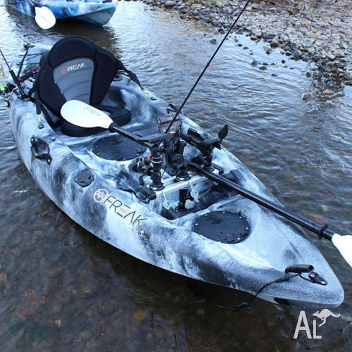 Freak Assassin GT fishing kayak package - 2014