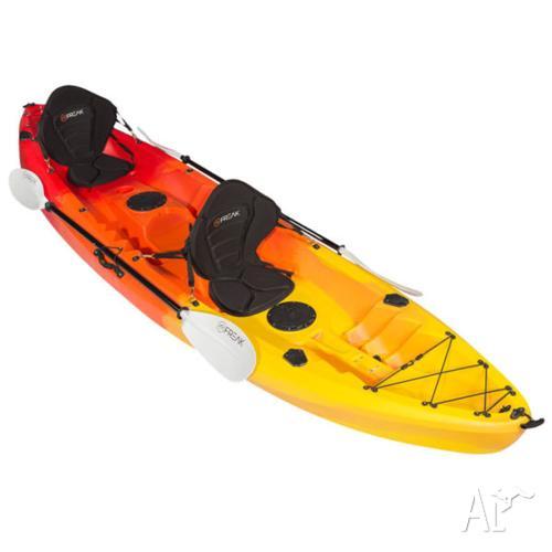 Freak Double Agent 2+1 seat kayak + FREE TROLLEY