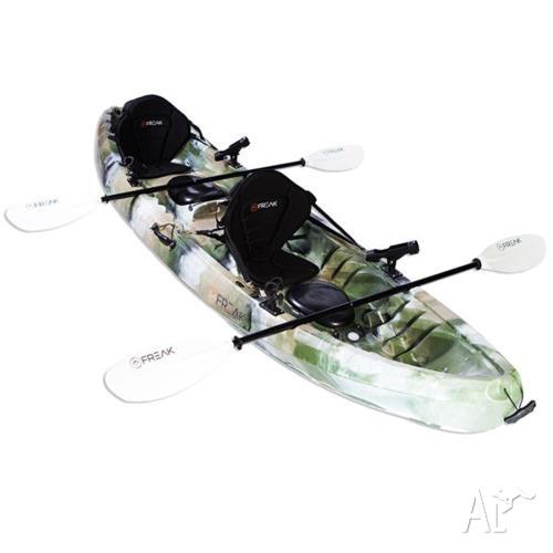 Freak Double Commando 2+1 Fishing Kayak package