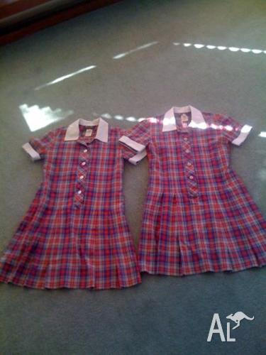 Friends' School girls uniform, size 10-12 (2 dresses &